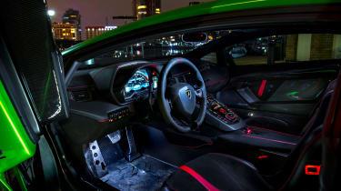 Lamborghini Aventador SVJevo – interior