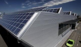 Lamborghini's photovoltaic factory