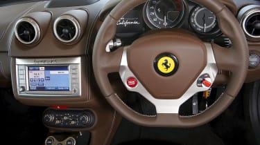 Ferrari California interior