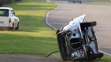 Austin A35 crash