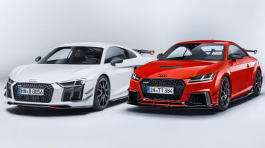 Audi performance parts - R8 and TT RS