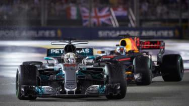 F1 Singapore - Merc