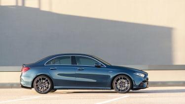 Mercedes-AMG A35 saloon - side
