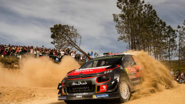 WRC Rally Portugal 2017 - Citroen C3 2