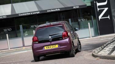 Peugeot 108 - rear