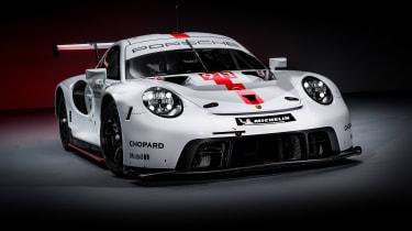 Porsche 911 RSR - front quarter studio
