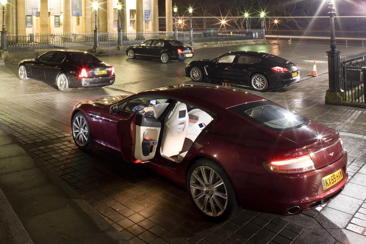 Aston Martin Rapide V Porsche Panamera Turbo V Maserati Quattroporte Gt S V Bentley Flying Spur Speed Evo