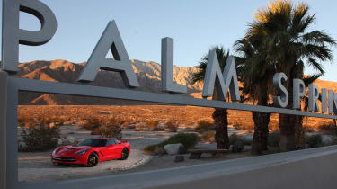 Chevrolet C7 Corvette Stingray - palm springs