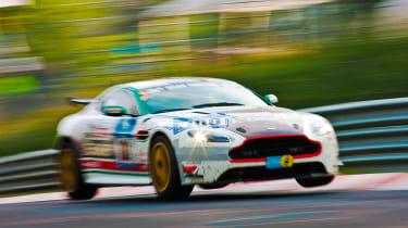 Nurburgring - airborne Aston Martin