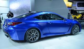 Lexus RC-F Detroit motor show pictures