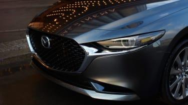 Mazda 3 saloon revealed - nose