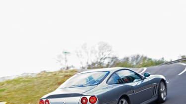 Ferrari 575M Maranello rear cornering picture