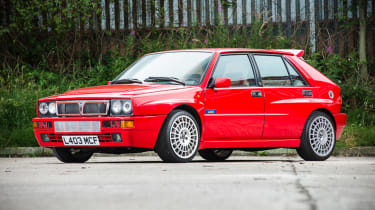 Jay Kay Lancia Delta Integrale - front three quarter