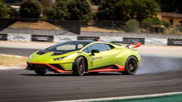 Lamborghini Huracan STO (International) – front quarter pass