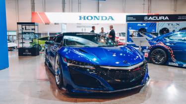 SEMA 2017 - Acura NSX Blue