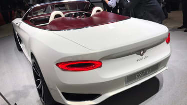 Bentley EXP12 Speed 6e - Geneva rear three quarter