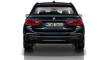 BMW M550d xDrive rear static