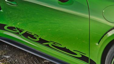 Porsche 911 GT3 RS 991.2 - sticker