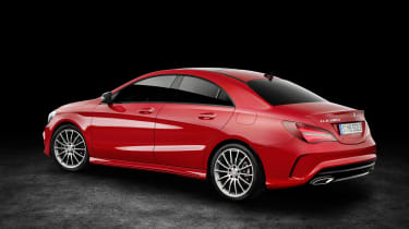 Mercedes-Benz CLA250 4MATIC - rear 3.4
