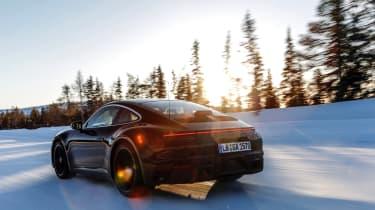 Porsche 911 final testing - rear quarter