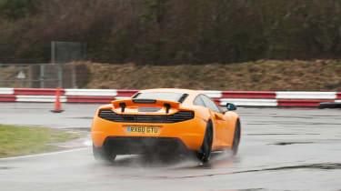 McLaren MP4-12C - rear