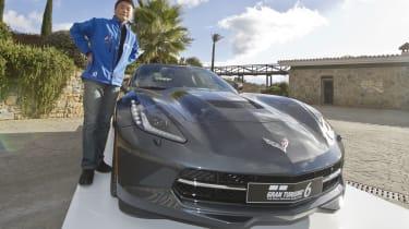 Gran Turismo creator Kazunori Yamauchi Corvette Stingray