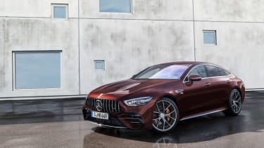 Mercedes-AMG GT53 MY22 – front quarter static