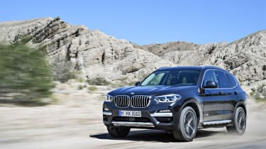 BMW X3 xDrive30d - front driving 2