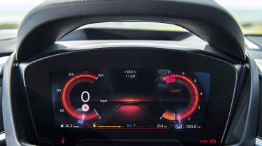 BMW i8 electronic dials