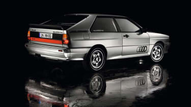 Audi Quattro - rear quarter