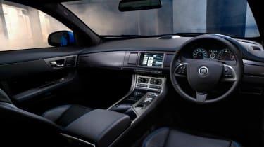 Jaguar XFR-S interior dashboard