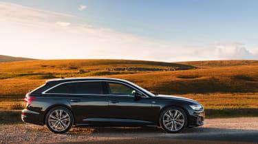 Audi A6 Estate S-Line - profile