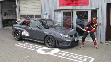 Revolution Subaru Impreza Project STI Nurburgring sets lap record