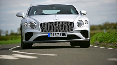 Bentley Continental GT UK drive - front
