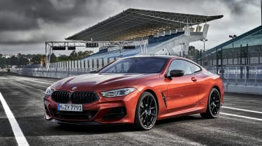 BMW M850i coupe review - quarter