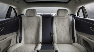 2019 Bentley Flying Spur saloon - rear seats