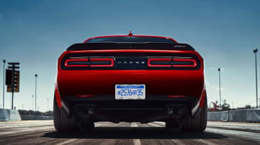 Dodge Demon rear 3