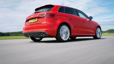 Audi S3 rear low