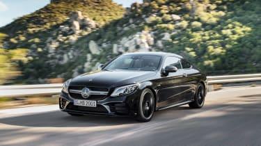 Mercedes-AMG C43 Coupe - front quarter