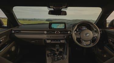 Toyota Supra 2.0 review - interior