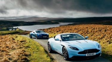 Aston Martin DB11 & Vanquish S - static