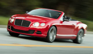 2013 Bentley Continental GT Speed Convertible red