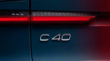 Volvo C40 Recharge light