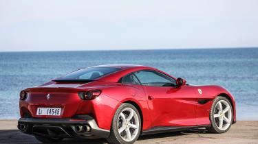 Ferrari Portofino - rear roof up