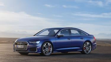 Audi S6 saloon - side