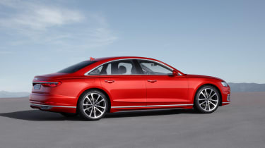 All-new Audi A8 red - front side