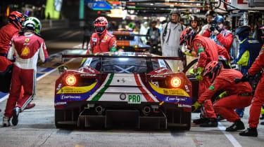 Le Mans 2017 - Ferrari Pit