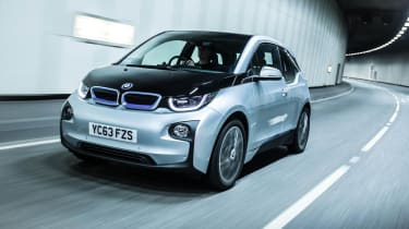 BMW i3 silver front