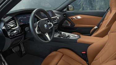 BMW Z4 M40i silver - interior