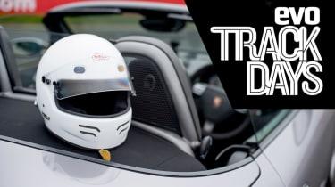 evo Track Days header